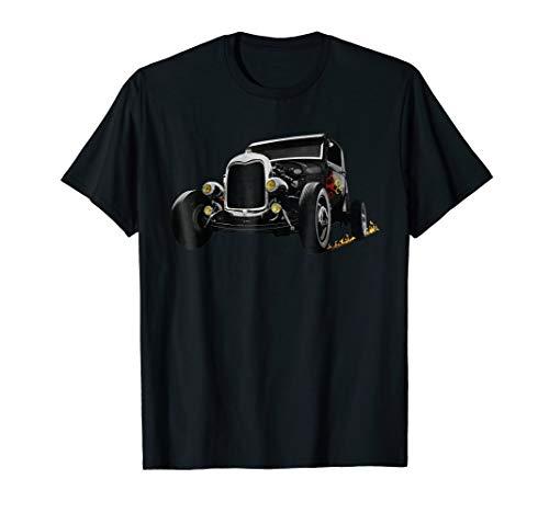Hot Rod Car Shirt Retro Vintage Race Hotrod Rat Rod Classic
