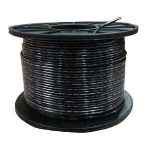 THHN 12AWG Solid 500Ft Black Reel