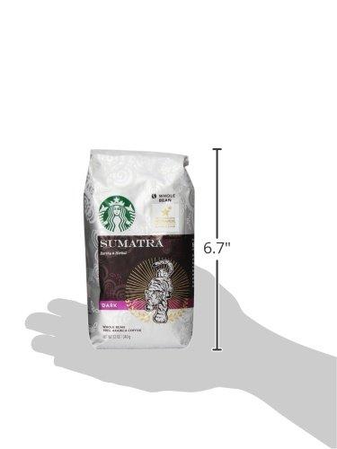 Starbucks Sumatra Whole Bean Coffeee, 12 oz
