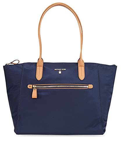 Nylon Large Zip Tote in Admiral ()