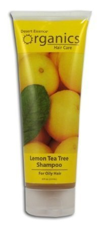 DESERT ESSENCE SHAMP,LEMON TEA TREE 8 OZ 1-EA