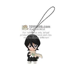 """Rukia Kuchiki: Bleach Mini ~1.5"""" Figure Keychain (Japanese Imported)"""