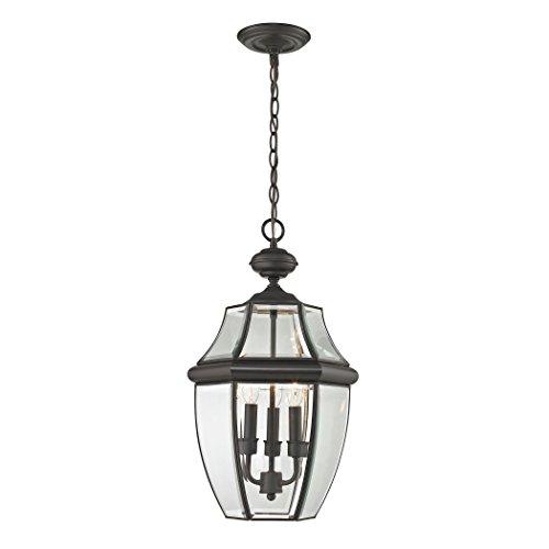 (Cornerstone Lighting 8603EH/75 Ashford 3 Light Exterior Hanging Lantern, Oil Rubbed Bronze )