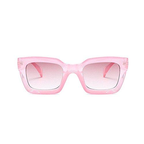 Aoligei Europe et États-Unis grand cadre amour lunettes de soleil homme et femmes fashion lunettes de soleil personnalité cent p en forme de coeur Chaque lunettes de soleil coeur z1Oamw4