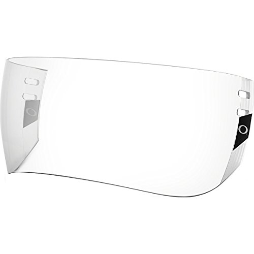 Oakley Modified Aviator Pro Cut Visor Adult Hockey Helmet Accessories - Clear/One -