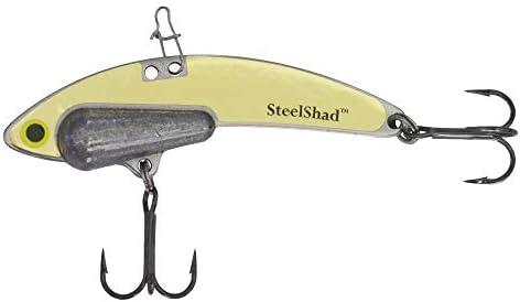 SteelShad ヘビーシリーズ 1/2オンス バス釣りルアー – リップレスクランクベイト 淡水釣り用 – スモールマウス&ラージマウスバス/ウォールアイ/パイク/トラウトに最適 – ヘビーシリーズ