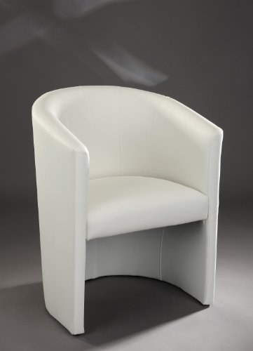 Design-Cocktailsessel-Sessel-Clubsessel-Loungesessel-Club-Mbel-Brosessel-Praxismbel-weiss