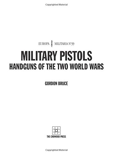 EM39 Military Pistols: Handguns of the Two World Wars (Europa Militaria)