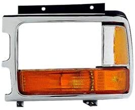 Front Clear and Amber Lens Driver Side Side Marker For Park Avenue 91-96