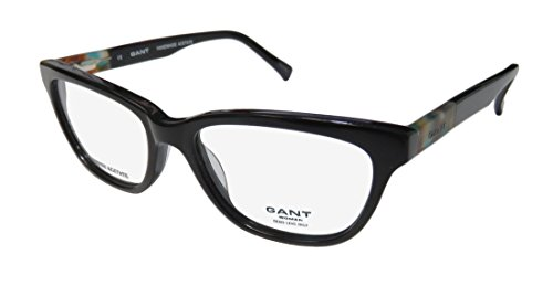 Gant 4005 Womens/Ladies Cat Eye Full-rim Flexible Hinges Eyeglasses/Eyewear (51-16-140, Black / - Glasses Frames 2014 Ladies