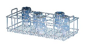 Labconco 4587000 304 Stainless Steel SteamScrubber Upper Standard Rack by Labconco