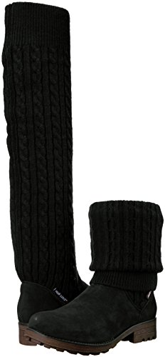 Pictures of MUK LUKS Women's Kelby Boots Fashion Black 6 M US 3