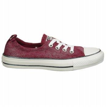 CONVERSE Women's Chuck Taylor Shoreline Sparkle Sneaker (Burgundy Sparkle 11.0 M)
