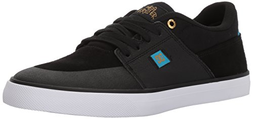 DC Shoes WES Kremer, Espadrillas Basse Uomo Black/Blue/White