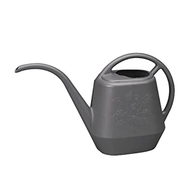 Bloem Living JW41-60 Aqua Rite Watering Can, 144-Ounce, Peppercorn