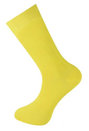 Uomini Limone Il Cotone Mysocks Colore Miglior Pianura E Calzini Donne 6zwvdqwH