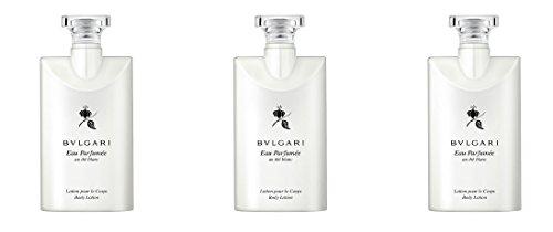 Bvlgari Au the Blanc (White Tea) Body Lotion - Set of 3, 2.5 Ounce bottles Blanc Tea