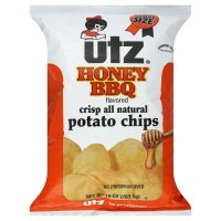 utz honey bbq chips - 1