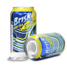 Brisk Ice Tea Can Diversion Safe Stash