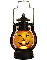 Pompoen Lantaarn Oplichten Flash Voor Kinderen Handvat Buitenshuis, Pompoen Led-verlichting Met Batterij-aangedreven Halloween Decoraties, Pompoen Licht Binnen Buiten Decor Ornamenten