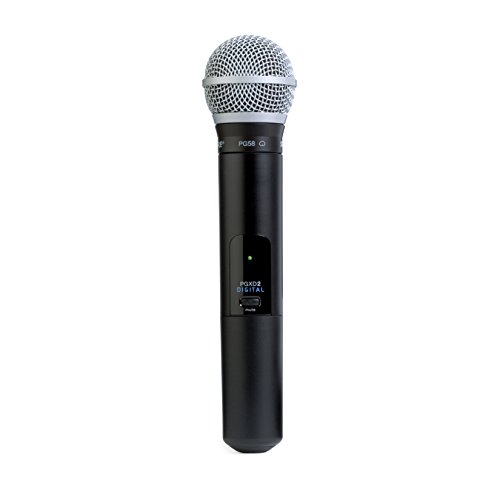 (Shure PGXD2/PG58=-X8 Digital Handheld Wireless Transmitter with PG58 Microphone)