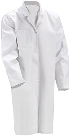 KOKOTT Bata de Laboratorio para Hombres y Mujeres,Hecho de 100/% algod/ón Estudiantes,Lavable a 90 /° C Adecuado para el Trabajo en el Laboratorio y en Medicina