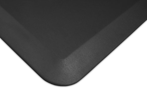 "NewLife by GelPro Anti Fatigue Mat: Eco-Pro Foam Anti-Fatigue Comfort Mat - Standing Desk Pad - Professional Floor Mats for Commercial & Industrial Work - 36"" x 60"" Non Slip Ergonomic Mat - Black by NewLife by GelPro"