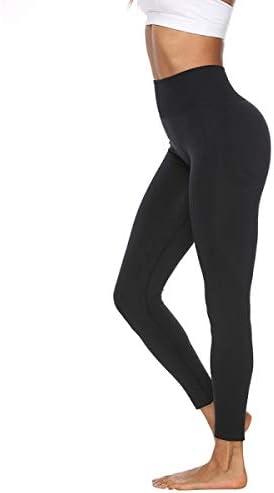 Leggings Mujer para yoga de alta cintura, pantalones deportivas para mujer, ropa deportiva para running, fitness y gym 3