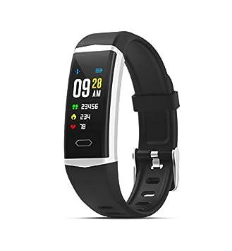 PRIXTON AT805 – Smartband con Pantalla a Color, Sumergible, GPS, Monitor de Frecuencia Cardiaca, Pantalla a Color de 0,96