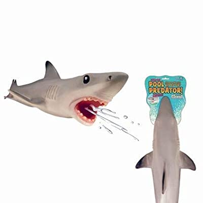 Play Visions Great White Shark Pool & Bath Toy - Water Squirter - Super Realistic And Over 2 Feet Long: Varios: Toys & Games