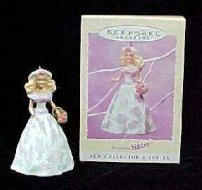Hallmark Keepsake Spring Ornament Springtime Barbie 1995