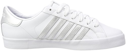 white Sneaker Bianco So swiss white Belmont Donna K 154 silver pwYRCPRqT