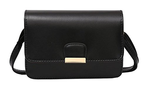 Clutch Women Cell Phone Black Purse Bag Small Crossbody Shoulder Black For Wallet axqA4wBfX