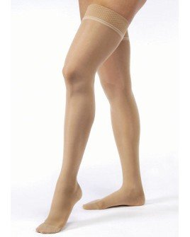 70b38c6b239 Image Unavailable. Image not available for. Color  Jobst Ultrasheer 30-40  mmHg Open Toe Thigh High Extra Firm Compression ...