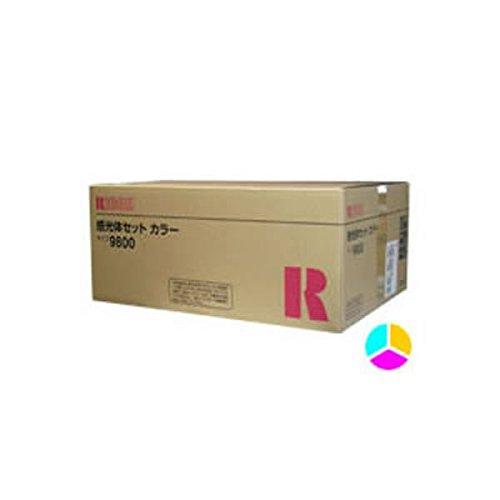 〔純正品〕 RICOH リコー インクカートリッジ/トナーカートリッジ 〔感光体セット タイプ9800 CL〕 B07GTM7F6W