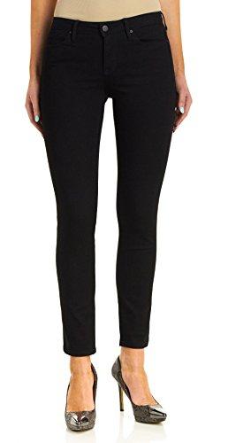 (Calvin Klein Women's Ultimate Skinny Jeans - Black, Black, 6x30)