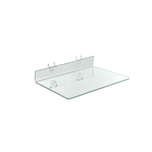 UPC 794504871135, Azar Displays 556018 Clear Acrylic Shelf for Pegboard or Slatwall