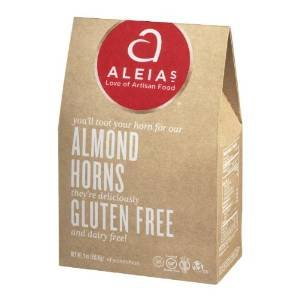 Aleia's Gluten Free Foods Cookies, Almond Horn, Gf, 9-Ounce