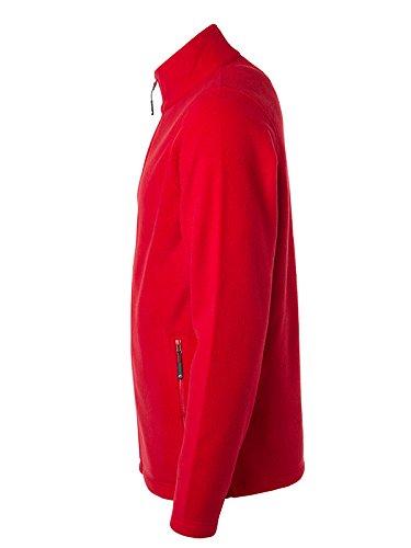 Rosso Giacca James Nicholson Uomo Fleece amp; nCxP6Oz7wq
