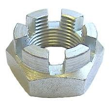 M10/10mm(2 Pack) A2 Stainless Steel Metric Castle/Slotted Nuts Free UK Delivery DBA Hardware