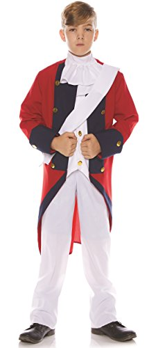 British Redcoat Halloween Costumes - Underwraps Little Boy's Little Boy's Redcoat