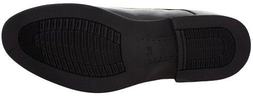 Calden - K911929 - 3 Pollici Più Alto - Scarpe Per Ascensore Con Altezza Crescente - Vernice Nera