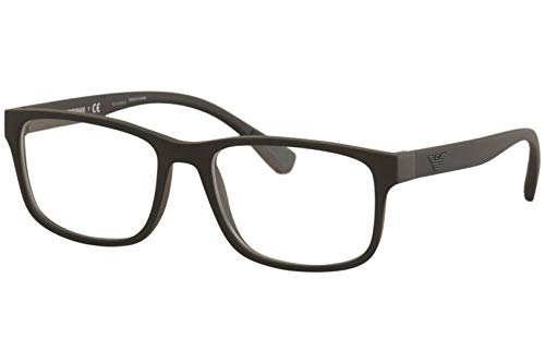 Armani EA3089 Eyeglass Frames 5042-56 - Matte Black