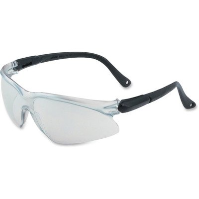 Transitions Safety Glasses in Black Wraparound Frame by