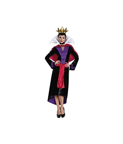 Disguise Women's Evil Queen Deluxe Adult Costume, Multi, -