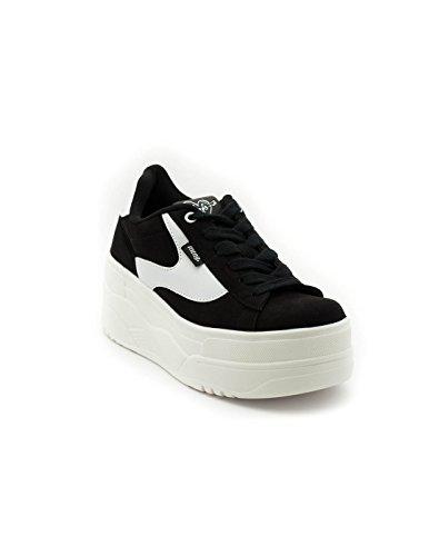 Femme Sneakers Noir 69282 Basses MTNG xX68On