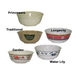 GET Enterprises inc Princeware Monarch Series Melamine Fluted Bowl, 48 Ounce -- 12 per case.