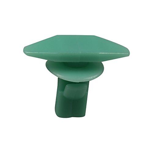 10 Weatherstrip Piece (Bross BCF1620 10 Pieces Weatherstrip Retainer, Plastic Clips for Honda:90664-671-0030)