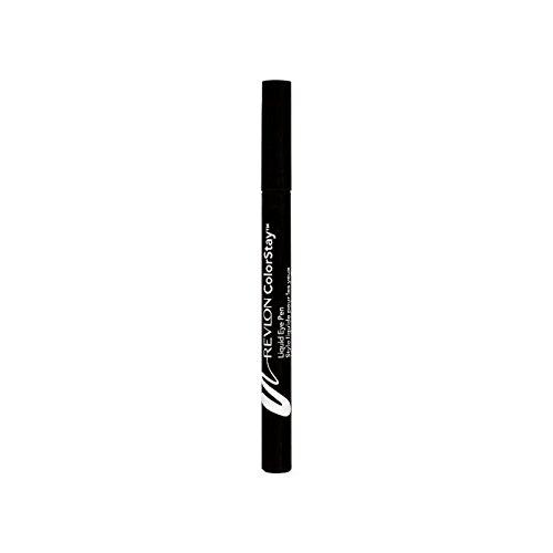 Revlon Colorstay Liquid Eye Pen Blackest Black 1 (Pack of 6) - レブロン液体眼ペン最も黒い黒1 x6 [並行輸入品] B071RN7BLS