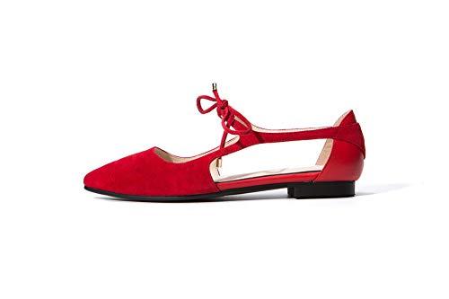 SDC06022 Sandales AdeeSu Red Femme Compensées xFU8xqgSw